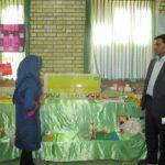 برگزاری نمایشگاه ابتکارات و دست سازههای آموزگاران ودانشآموزان مقطع ابتدایی در شهرستان درمیان؛