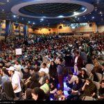 گردهمایی جوانان حامی دکتر حسن روحانی