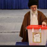 رهبر معظم انقلاب رای خود را به صندوق انداختند؛