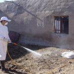 سم پاشی بیش از ۱۹ هزارمتر مربع از دامداریهای شهرستان خوسف