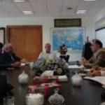 استاندار خراسان جنوبی در دیدار با وزیر نیرو مهمترین موضوع کاری استان را بررسی کرد