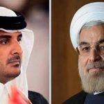 پیام دکتر روحانی به امیر قطر؛