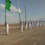 ورود کاروان پیاده شهر یزد به دیهوک