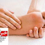 علت سوزن سوزن شدن پا چیست؟