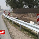 نصب ۲۵ کیلومتر گاردریل در راههای خراسانجنوبی