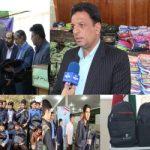 کمک ۵۰۰ میلیونی خیرین به دانش آموزان محروم استان