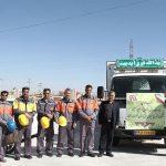 اکیپ عملیاتی شرکت توزیع نیروی برق استان خراسان جنوبی به عراق اعزام شد؛