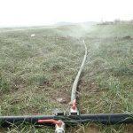 انجام ۲۱ کیلومتر شبکه آبیاری نوین در روستای بسطاق سرایان؛