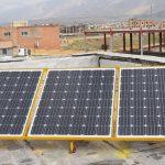 خریداری ۱۲۵ هزار کیلووات ساعت انرژی خورشیدی در استان؛