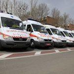 آماده باش ۴۲ دستگاه آمبولانس در شب چهارشنبه آخرسال در خراسانجنوبی