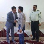 دیدار با خانواده شهید عباس طاهری نوری