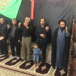 حضور فرماندار خوسف در جمع عزاداران حسینی روستای معصوم اباد