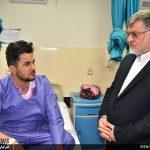عیادت استاندار از مصدومان حادثه محور نهبندان به زاهدان
