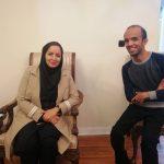 دیدار مدیرعامل خانه مطبوعات  استان با امیرحسین صادقپور