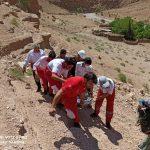 امدادرسانی هلال احمر خراسان جنوبی به بیش از ۱۲۰۰ حادثه دیده
