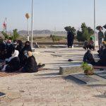 برگزاری دعای ندبه صبح عید غدیر روستای نوفرست