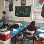 ۱۰۷ واحد خون توسط داوطلبان هلال احمر در بشرویه اهدا شد