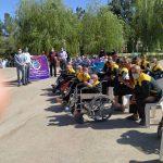 اقدام بی نظیر هیات ورزشهای همگانی استان برای هفته گرامیداشت پارالمپیک
